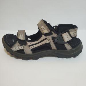 ECCO Mojave hiking outdoor sport sandal tan black